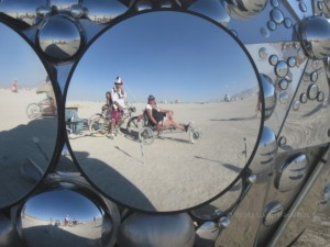 Travelinas at Burning Man 2012
