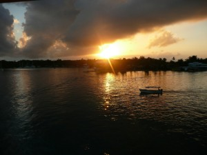 Bocas del toro, panama water taxi