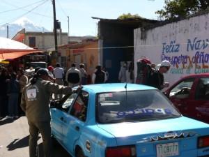Taxi to Orizaba, Tlachichuca Mexico