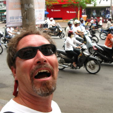 Video — How to (GULP!) cross a city street in Vietnam.