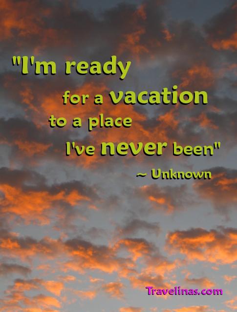 sunrise photo with vacation meme