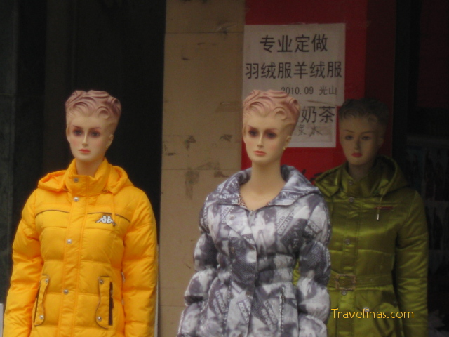 Chinese mannequins
