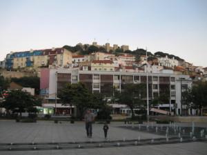 Martim Moniz Square Lisbon