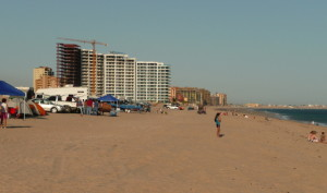 Sandy Beach camping and condos