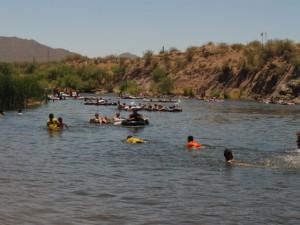 Salt River tubing