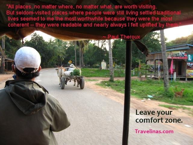 Cambodia Paul Theroux quote