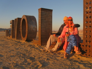 Travelinas at Burning Man 2014