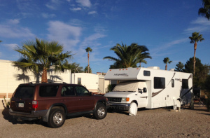Travelinas camp in Tucson