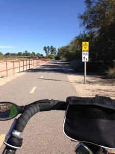 Tucson bike path