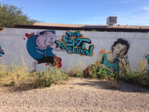 Tucson bob saget graffiti