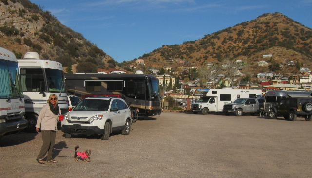 Queen Mine RV Park in Bisbee