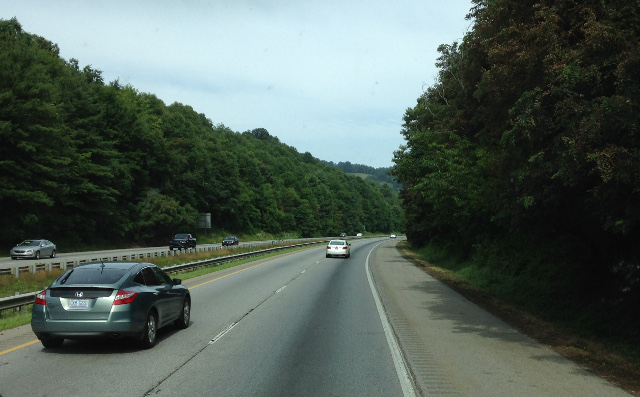 We passed into North Carolina and saw the Appalachians for the first time