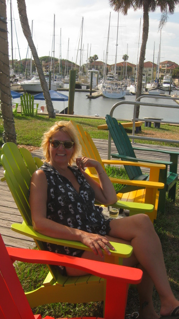 Beautiful place to hang at the Kingfisher Grill, Vilano Beach