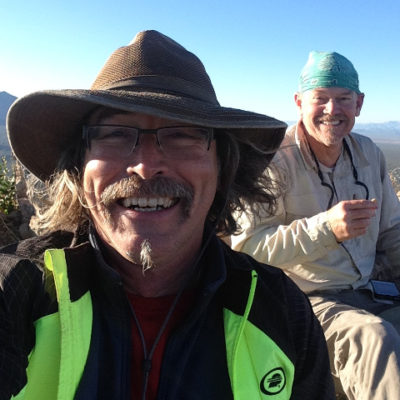 Climbed Tucson's Safford (Sombrero) Peak with fellow desert rat Mike Ehlerman