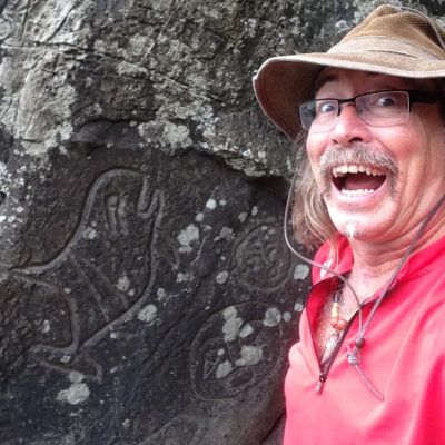 Found the petroglyphs on the Ozette Triangle hike