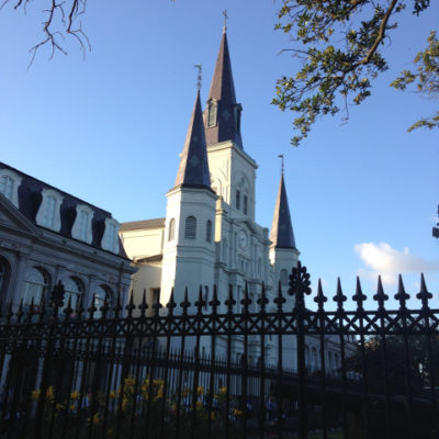 Iconic St. Louis Cathedral in New Orleans