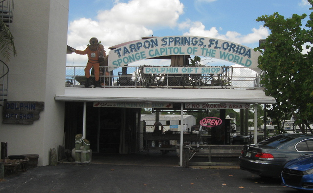 Great Greek food and seaside kitsch at Tarpon Springs