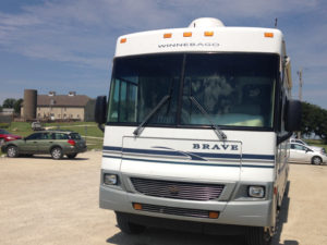 Travelinas RV in Kansas, Tallgrass Prairie