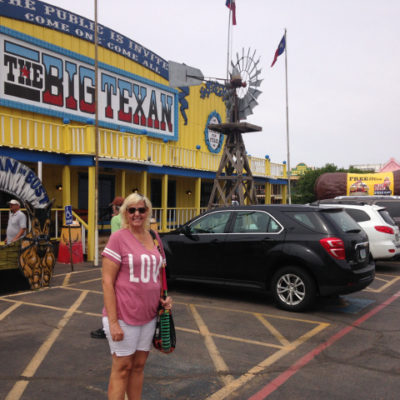 The famous and gimmicky Big Texan