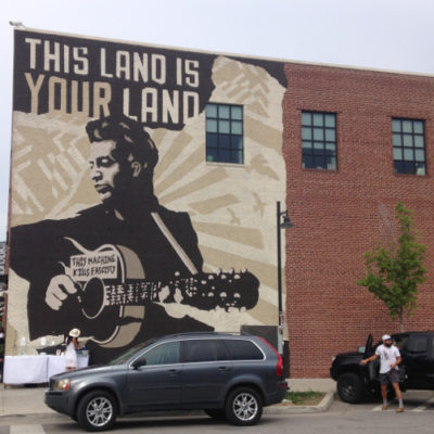 Tulsa's Woody Guthrie Center was fantastic!