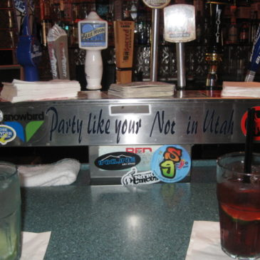 Utah and alcohol do mix. Your guide to finding an adult drink in the Beehive State.