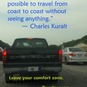 Take the back roads and see America.