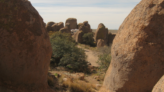 City of Rocks SP has some nice camping areas