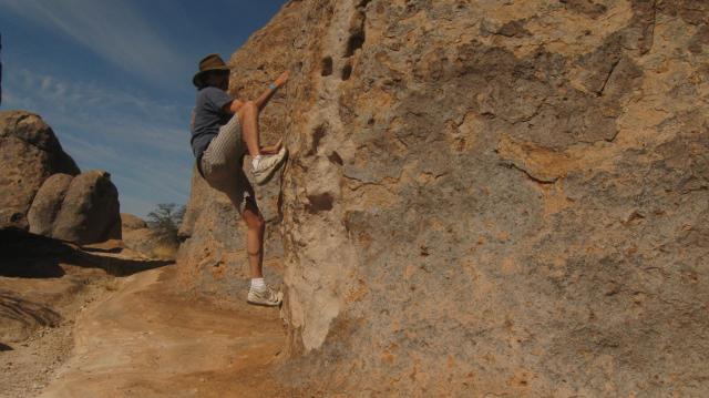 Great bouldering at City of Rocks