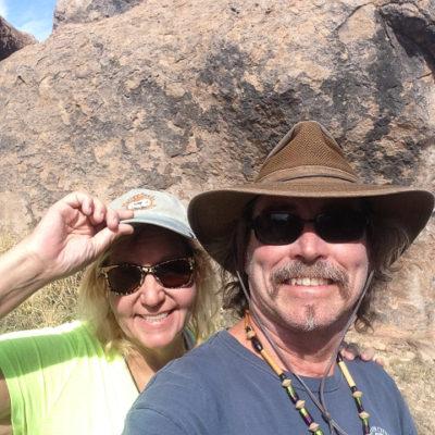 We explored the wonderful little hoodoos of City of Rocks State Park