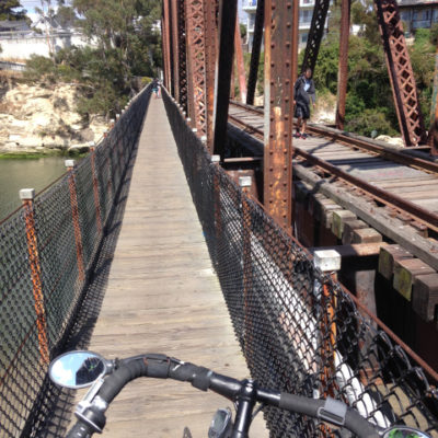 San Lorenzo bridge, Santa Cruz