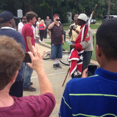 South Carolina State House flag protesters