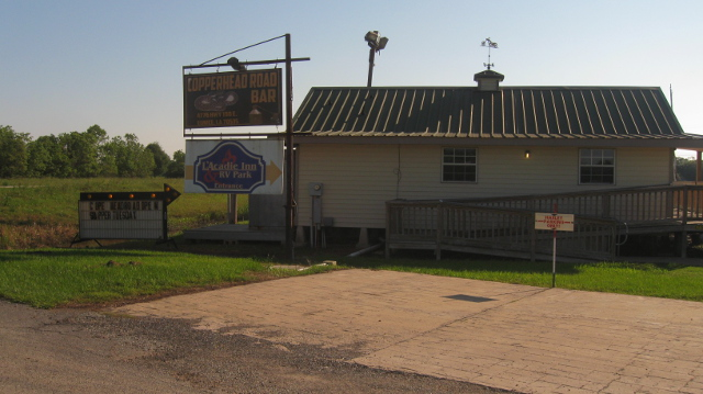 The Copperhead Road Bar in Eunice, Louisiana