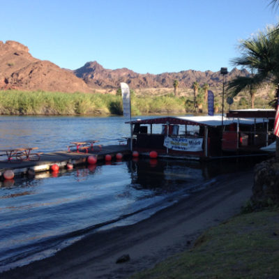 There's even a floating bar at Fox's RV Resort