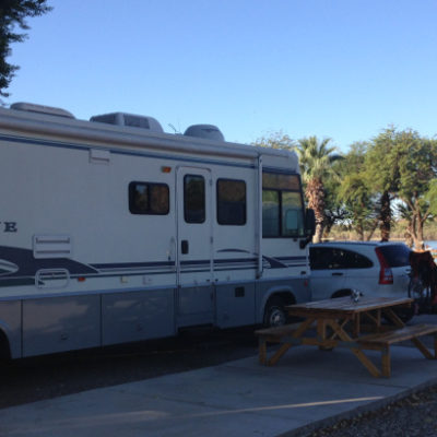 Fox's RV Resort along the Colorado River in Parker, Arizona