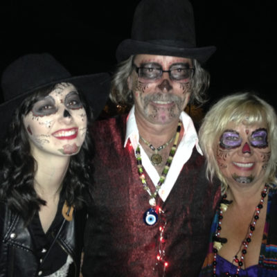 Tucson All Souls Procession with our daughter