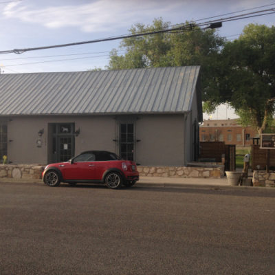 The Grey Mule Saloon serves local wines in Fort Stockton