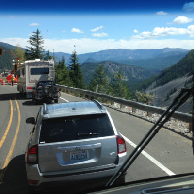Scenic Highway 12 over the Cascades
