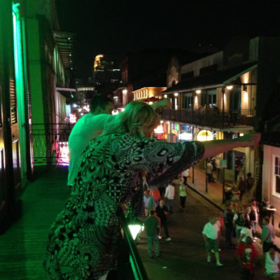 Mardi Gras was long over, but people still wanted beads