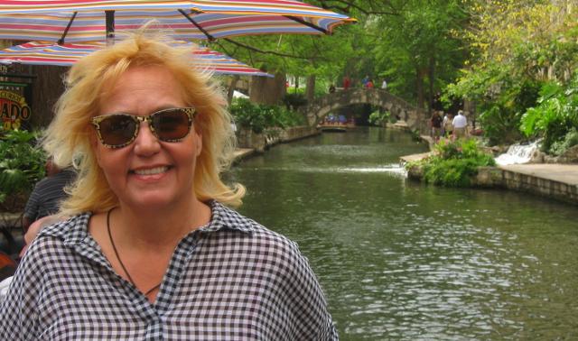 Along the San Antonio River Walk