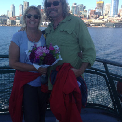 After a day in Seattle, the ferry ride home
