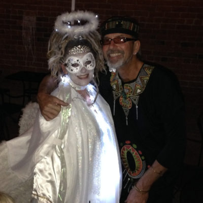 Melodee and Brian, Tucson's All Souls Procession
