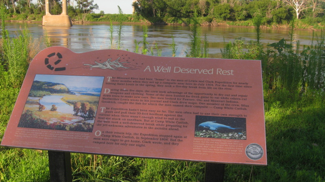 Lewis and Clark were here, Missouri River, Omaha