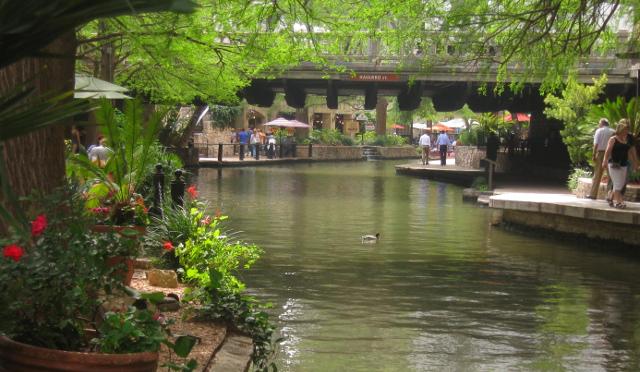 San Antonio's River Walk is beautiful