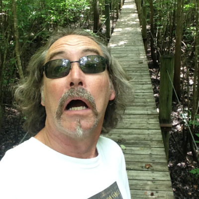 Suwannee River Hideaway Campground had a cool boardwalk across the swamp