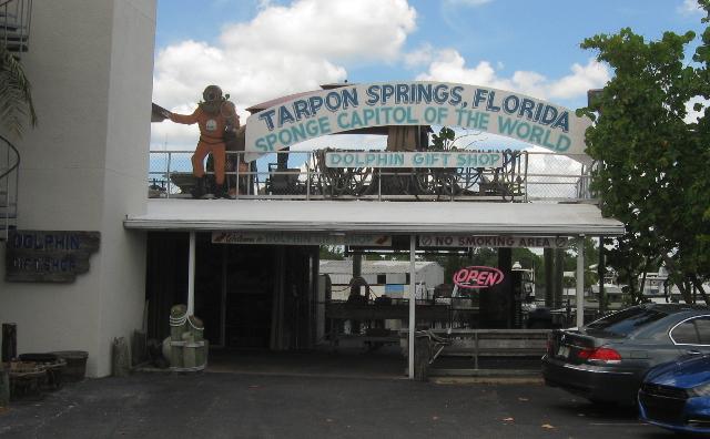Great Greek food and seaside kitsch at Tarpon Springs