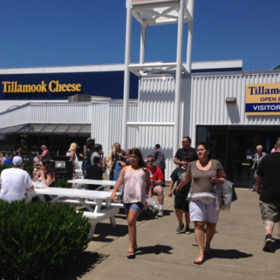 Tillamook Cheese Factory was a bit too popular for us.