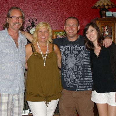 Family reunited in Las Vegas