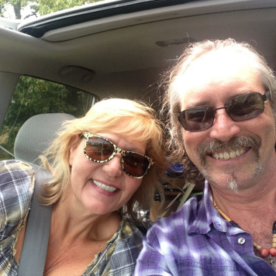 Having fun exploring country roads in northern South Carolina