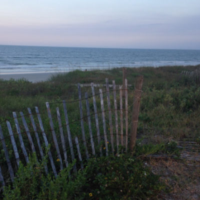 Vilano Beach: We have now driven coast to coast in the U.S.