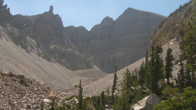 Wheeler Peak in Nevada's Great Basin National Park